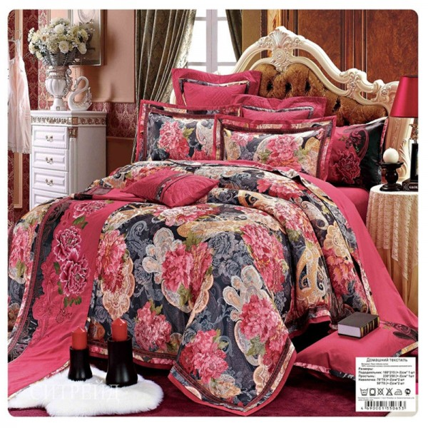 Постельное белье жаккардовый люкс гобелен 2 спальный