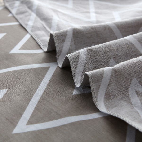 Комплект постельного белья Люкс-Сатин на резинке Евро