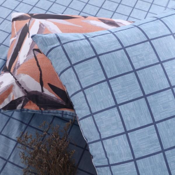 Комплект постельного белья Люкс-Сатин на резинке Дуэт Семейный