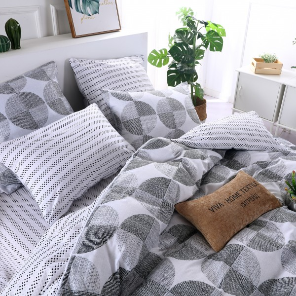 Комплект постельного белья Люкс-Сатин на резинке 2 спальный
