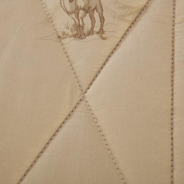 Одеяло Верблюжий пух с вышивкой Premium 2 спальный