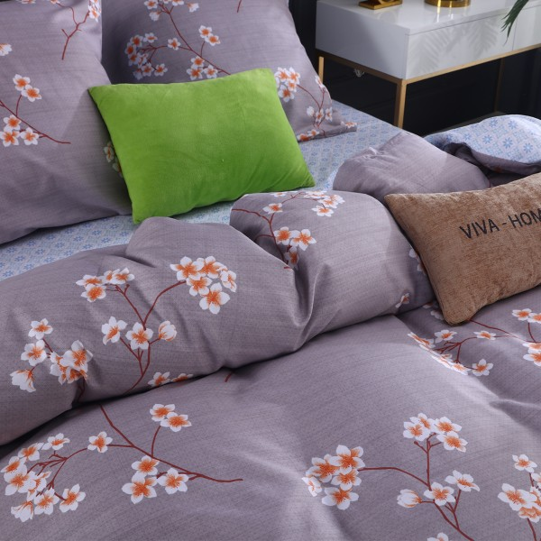 Комплект постельного белья Сатин Дуэт Семейный