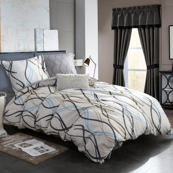 Комплект постельного белья Сатин Выгодный 1.5 спальный