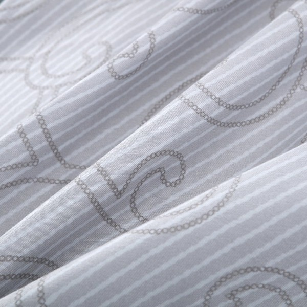 Комплект постельного белья Сатин вышивка Евро