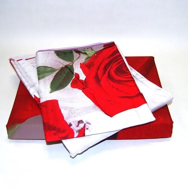 Комплект постельного белья 3D мако-сатин 1.5 спальный