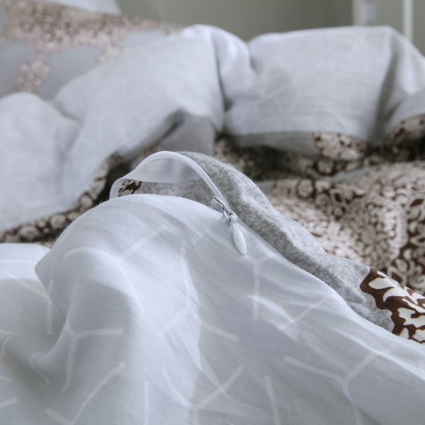 Комплект постельного белья Делюкс Сатин 2 спальный