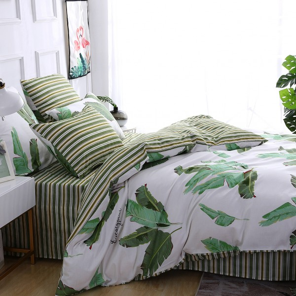 Комплект постельного белья Делюкс Сатин 1.5 спальный